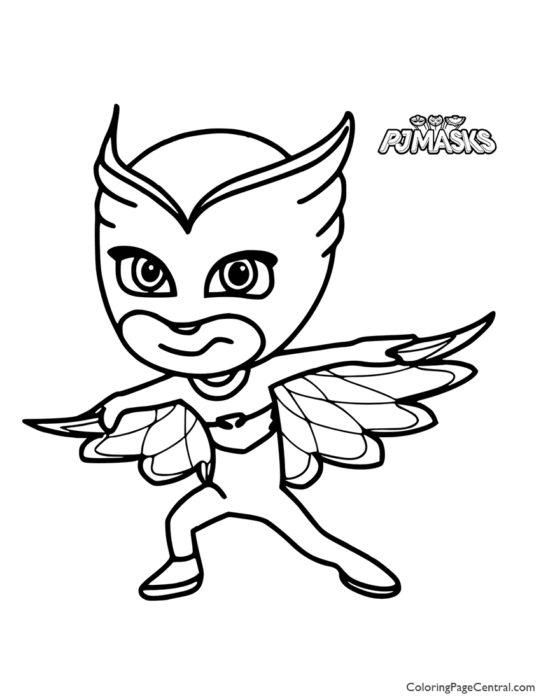 PJ Masks - Owlette Coloring Page