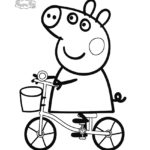 Peppa Pig Coloring Page 03