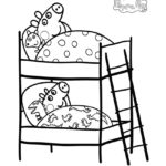 Peppa Pig Coloring Page 04