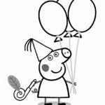 Peppa Pig Coloring Page 05