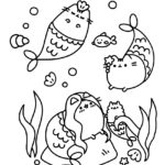 Pusheen Coloring Page 05
