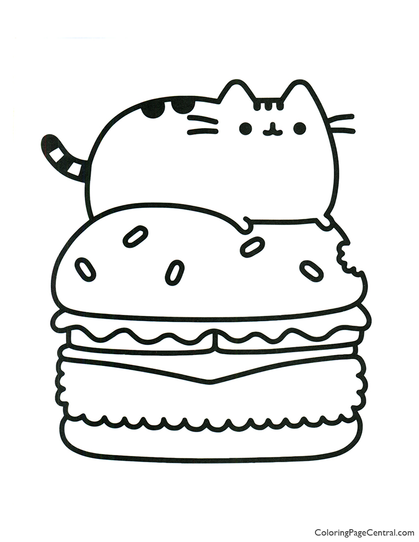 - Pusheen Coloring Page 11 Coloring Page Central