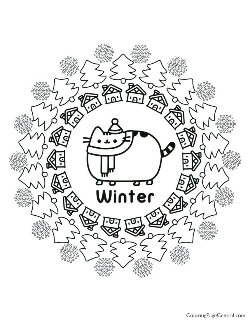 pusheen cat coloring pages free لم يسبق له مثيل الصور + tier3.xyz | 1100x850