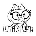 UniKitty - Dr Fox Coloring Page