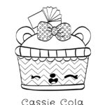 Num Noms - Cassie Cola Coloring Page