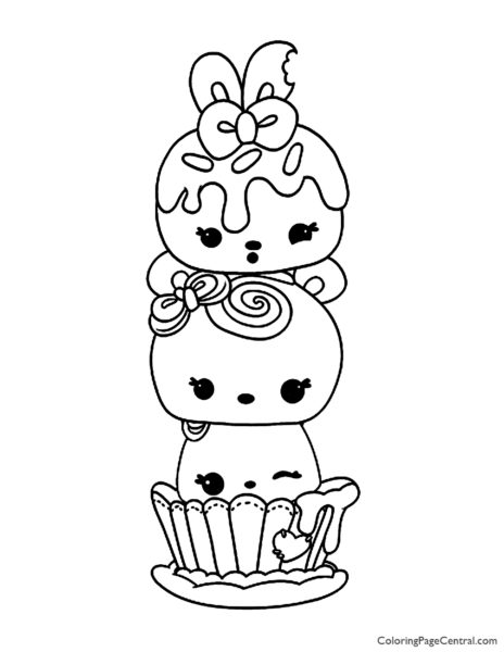- Num Noms Coloring Page 01 Coloring Page Central