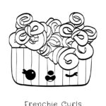 Num Noms - Frenchie Curls Coloring Page