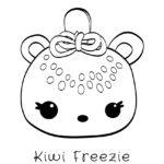 Num Noms - Kiwi Freezie Coloring Page