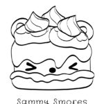 Num Noms - Sammy Smores Coloring Page