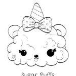 Num Noms - Sugar Puffs Coloring Page