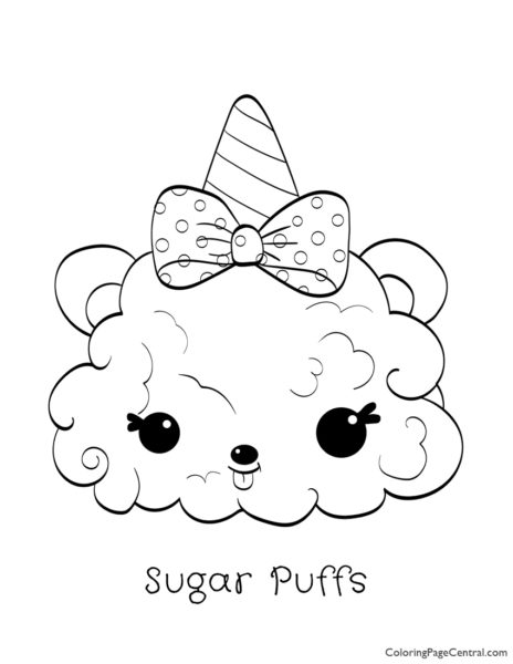 - Num Noms - Willy Waffles Coloring Page Coloring Page Central