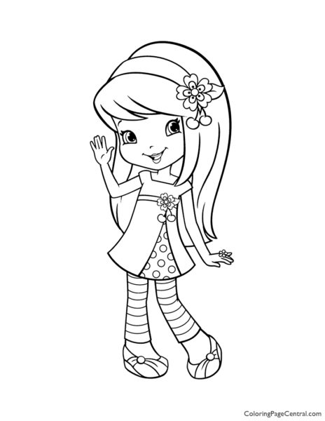 Cherry Jam 02 Coloring Page
