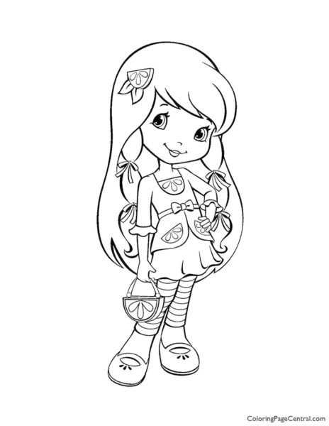 Lemon Meringue 01 Coloring Page