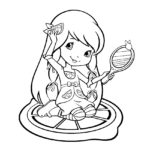Lemon Meringue 02 Coloring Page