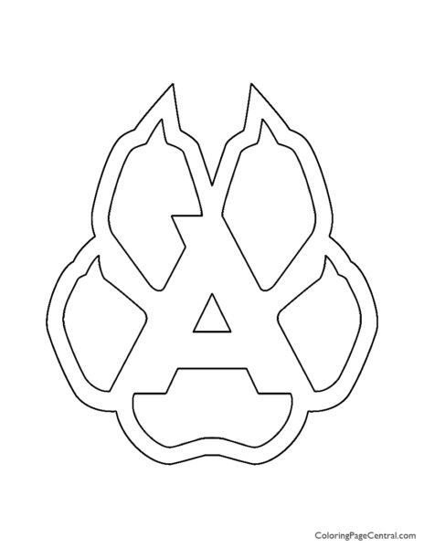 NHL – Arizona Coyotes Logo Coloring Page