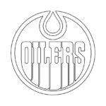 NHL - Edmonton Oilers Logo Coloring Page
