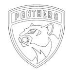 NHL - Florida Panthers Logo Coloring Page