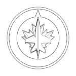 NHL - Winnipeg Jets Logo Coloring Page