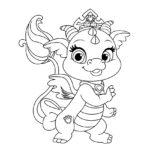 Palace Pets Ash Coloring Page