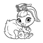 Palace Pets Berry Coloring Page