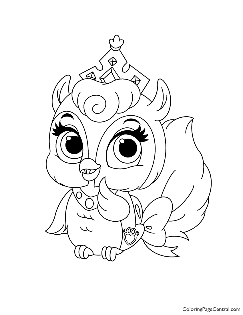 Palace Pets Fern Coloring Page