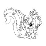Palace Pets Meadow Coloring Page