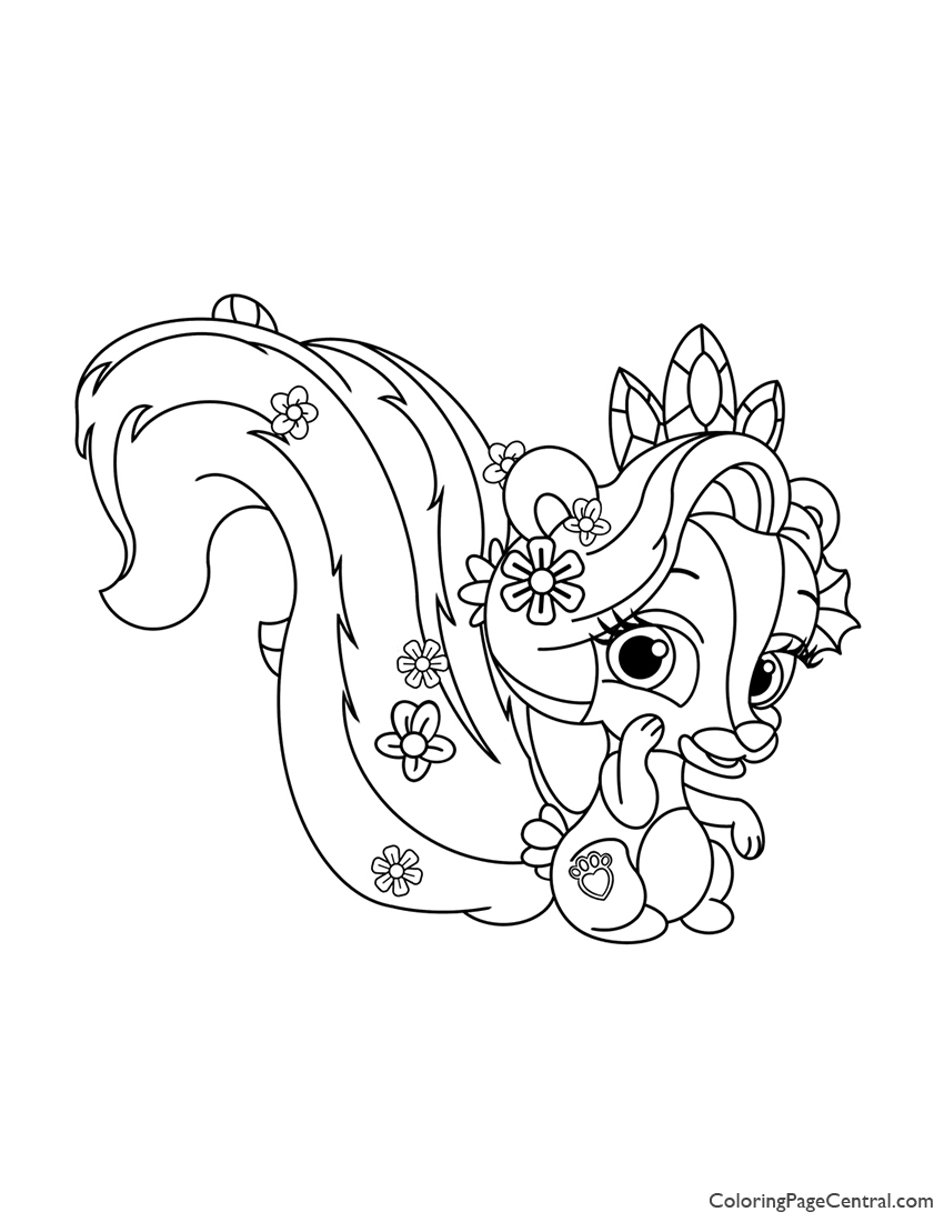 Coloring Pages Incredible Palace Pets Photo Inspirations Materials ... | 1100x850