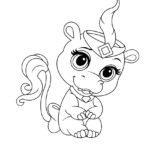 Palace Pets Nola Coloring Page