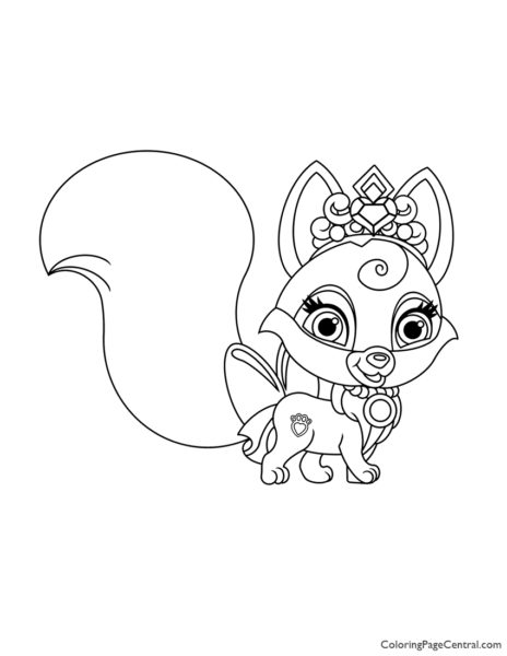 - Palace Pets Brie Coloring Page Coloring Page Central