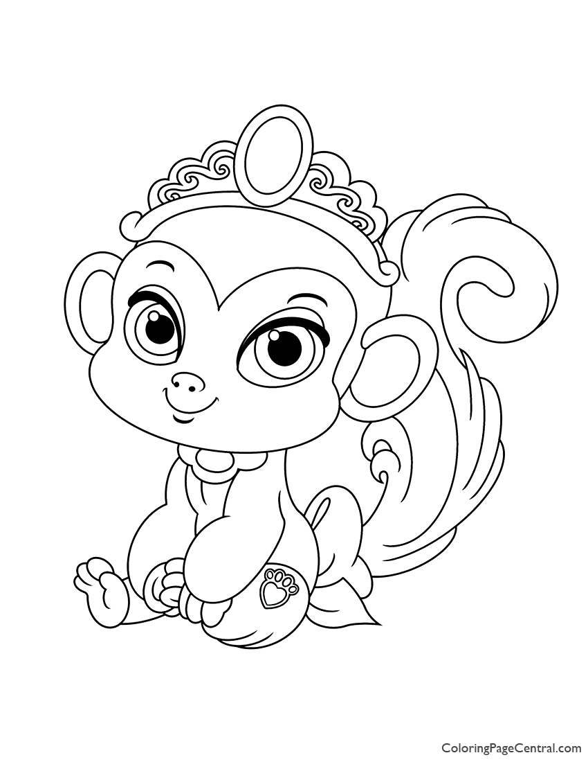 Palace Pets Nyle Coloring Page