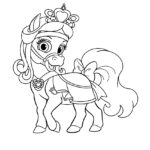 Palace Pets Sweetie Coloring Page