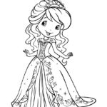 Strawberry Shortcake 04 Coloring Page