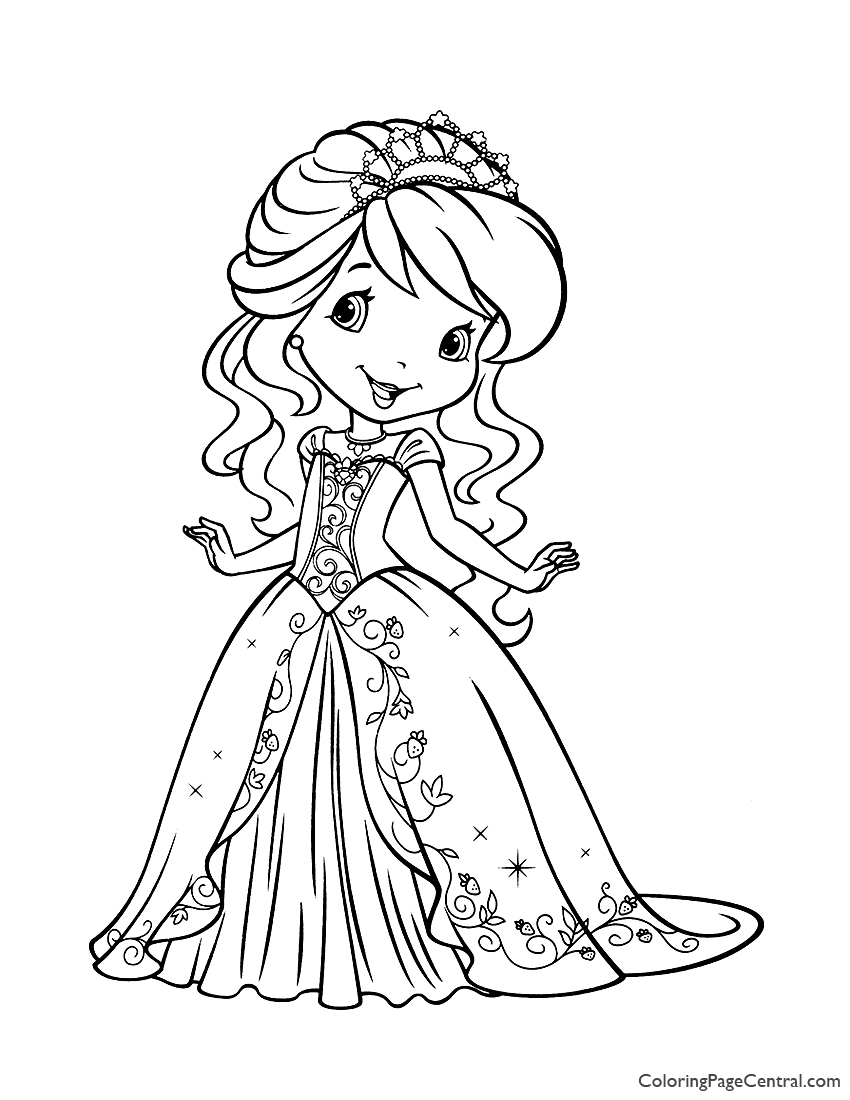 - Strawberry Shortcake 04 Coloring Page Coloring Page Central