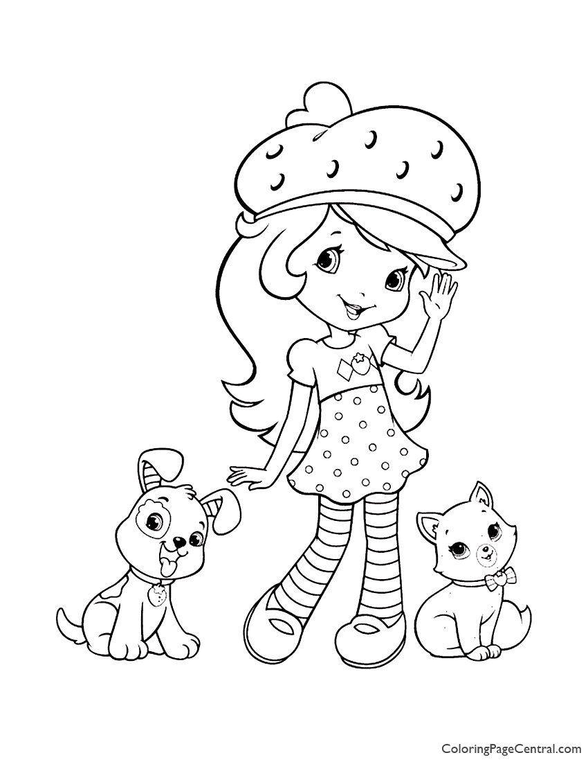Strawberry Shortcake 05 Coloring Page
