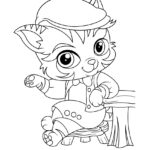Whisker Haven Barnaby Pickles Coloring Page