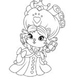 Whisker Haven Jane Hair Coloring Page