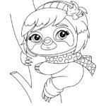 Whisker Haven Miss Sophia Coloring Page