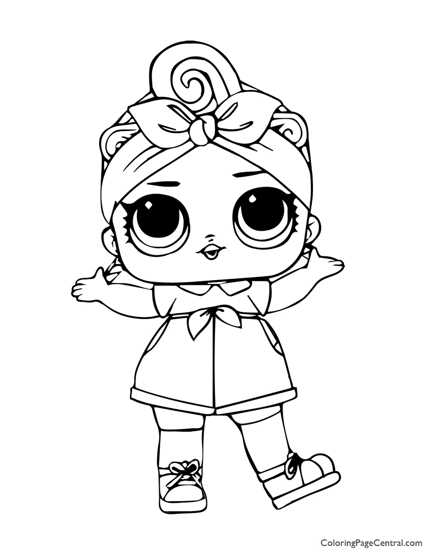 LOL Surprise Can Do Baby Coloring Page | Coloring Page Central