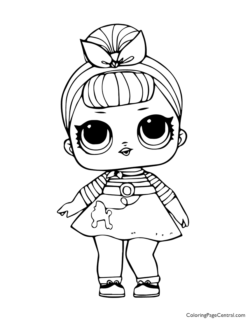 LOL Surprise Sis Swing 01 Coloring Page | Coloring Page Central