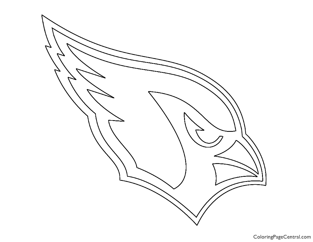 Nfl Arizona Cardinals Coloring Page Coloring Page Central