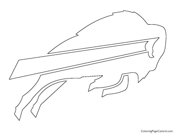 NFL Buffalo Bills Coloring Page