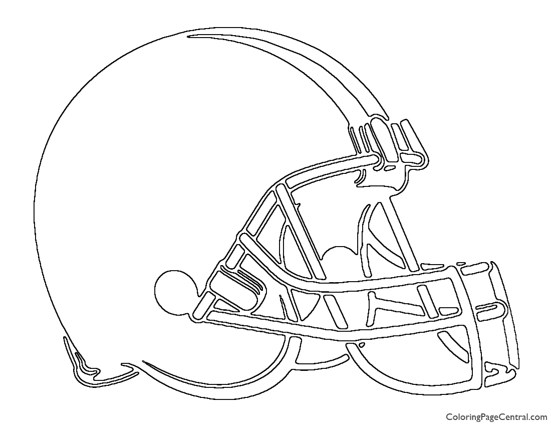 NFL Cleveland Browns Coloring Page