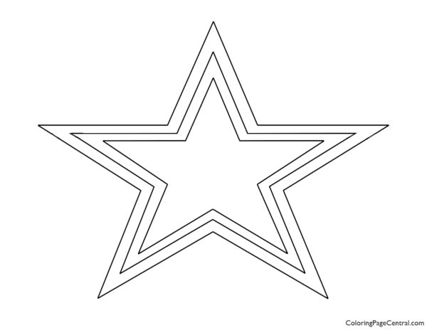 NFL Dallas Cowboys Coloring Page