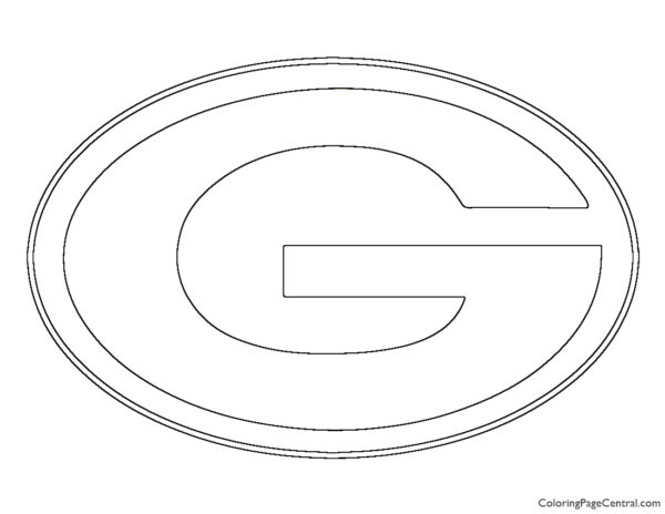 NFL Green Bay Packers Coloring Page
