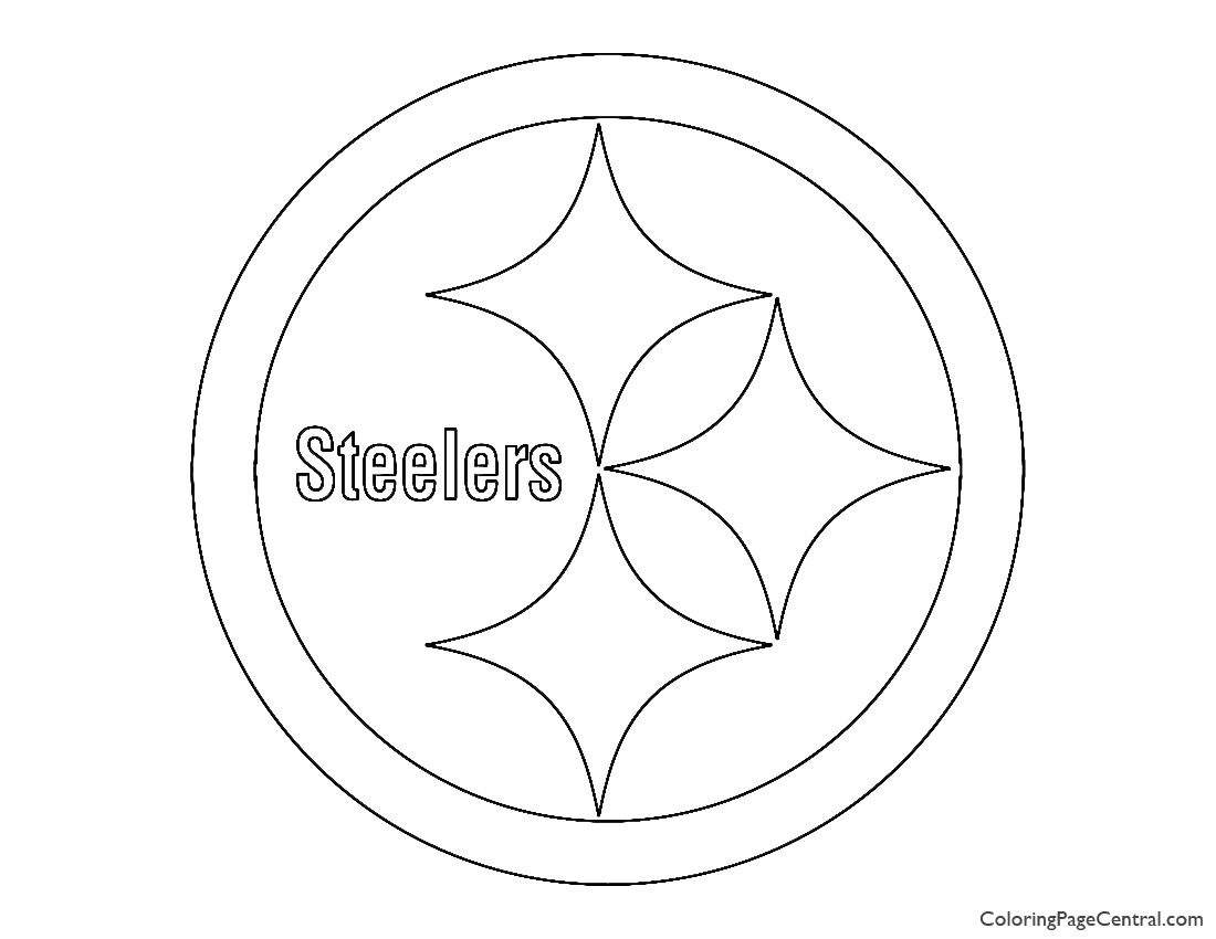 NFL Pittsburgh Steelers Coloring Page