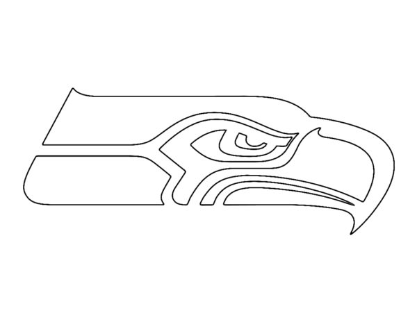 NFL Seattle Seahawks Coloring Page