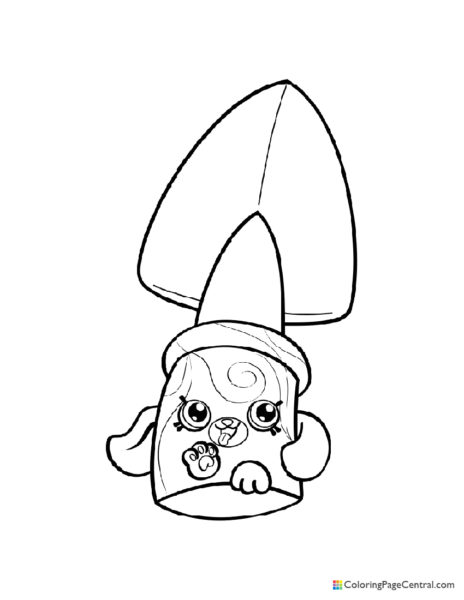 Shopkin – Jade Spade Coloring Page