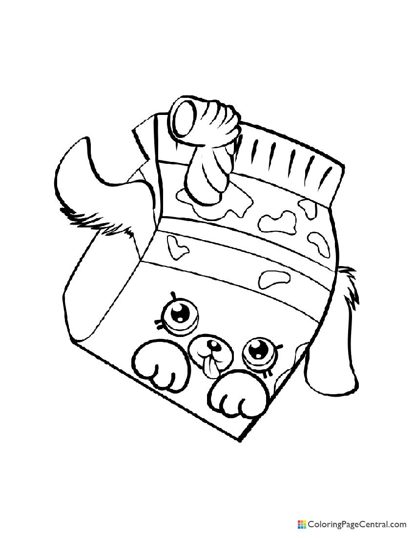 Shopkin - Milk Bud Coloring Page