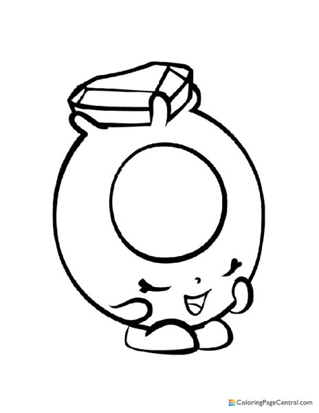 Shopkin – Ring-a-Rosie Coloring Page
