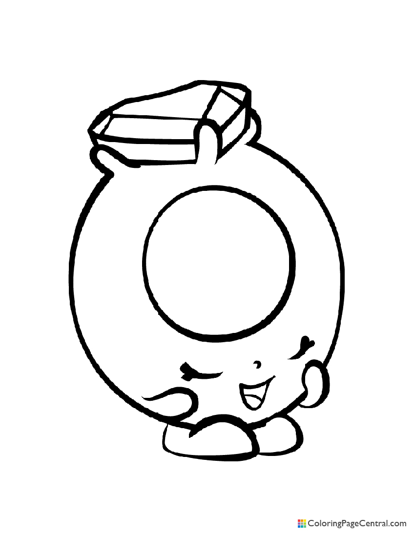 Shopkin - Ring-a-Rosie Coloring Page